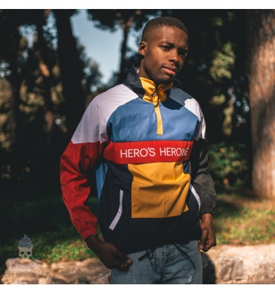 GIACCA WINDBREAKER COLOUR BLOCK - HERO