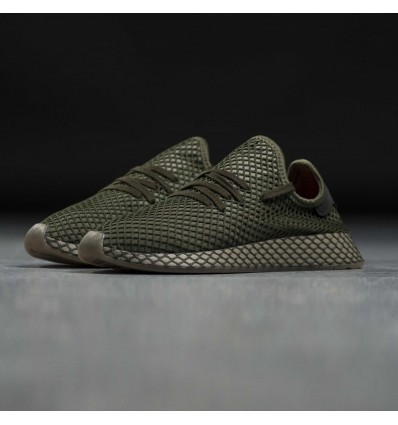 DEERUPT RUNNER BASE GREEN - ADIDAS