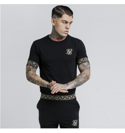 T-SHIRT BLACK CARTEL - SIK SILK