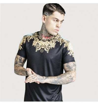 T-SHIRT GOLD DANI ALVES - SIK SILK