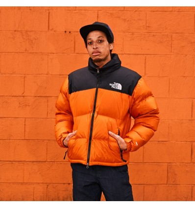 GIACCA NUPSTE 1996 ORANGE - THE NORTH FACE