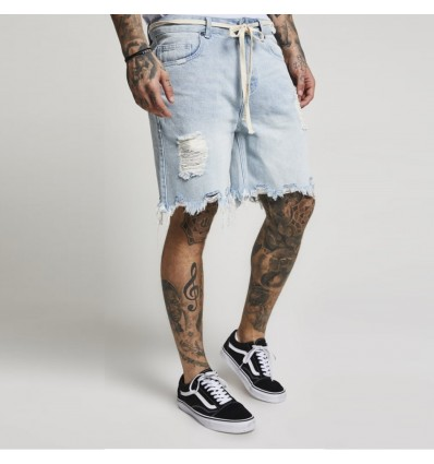 BERMUDA JEANS DISTRESSED - SIK SILK