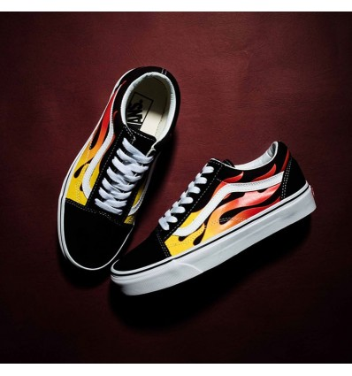OLD SKOOL FLAME - VANS