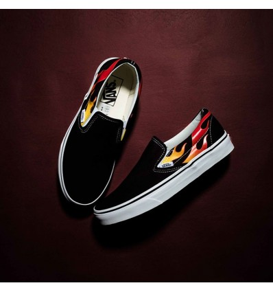 SLIP-ON FLAME - VANS
