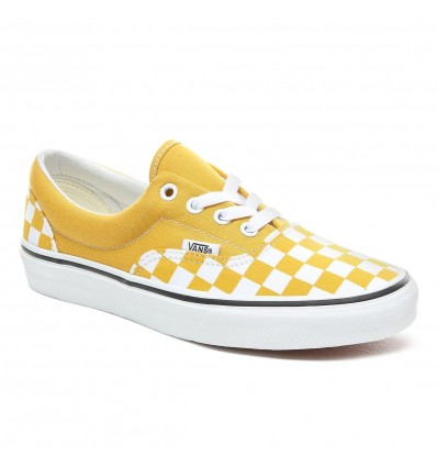 ERA CHECKERBOARD YELLOW - VANS