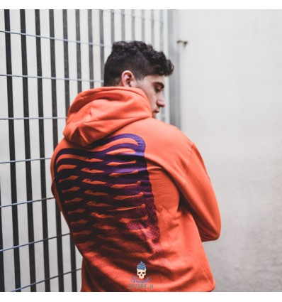 FELPA RIBS HOODY ORANGE - PROPAGANDA