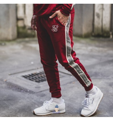 TRACK PANTS RED LINE - SIK SILK