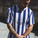 T-SHIRT BLUE STRIPES - ADIDAS