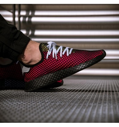 DEERUPT SHOCK RED - ADIDAS