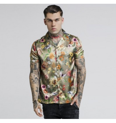 CAMICIA SECRET GARDEN - SIK SILK