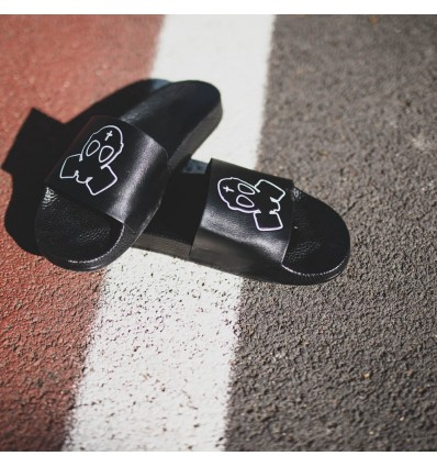 sneakers for cheap f54ab 1d5fe CIABATTE BLACK LOGO - BUT NOT