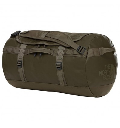 BASE CAMP DUFFEL TAUPE GREEN S -THE NORTH FACE