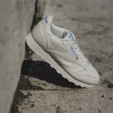 CLASSIC LEATHER PAPER WHITE/CYAN - REEBOK