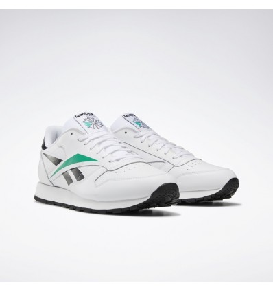outlet store 6d9be c03b7 SCARPE CLASSIC LEATHER EMERALD - REEBOK