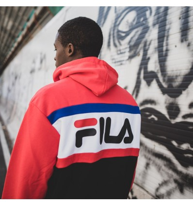 FELPA BLOCKED RED - FILA