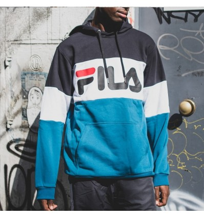 FELPA BLOCKED SKY BLUE - FILA