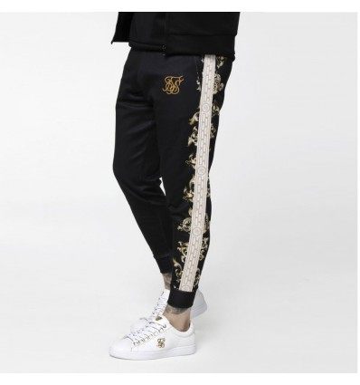 PANTALONE TUTA GOLD MOTIVE STRIPE - SIK SILK