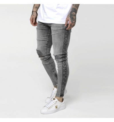 JEANS SNOW WASH - SIK SILK