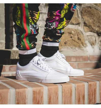 OLD SKOOL TOTAL WHITE - VANS