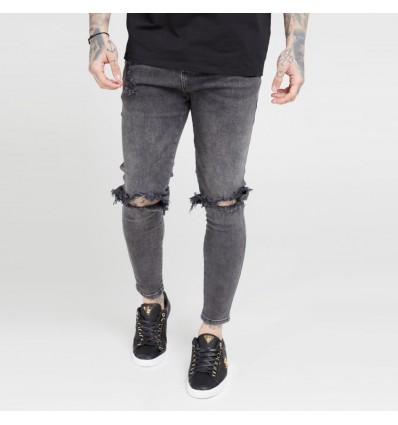 JEANS SKINNY DISTRESSED - SIK SILK