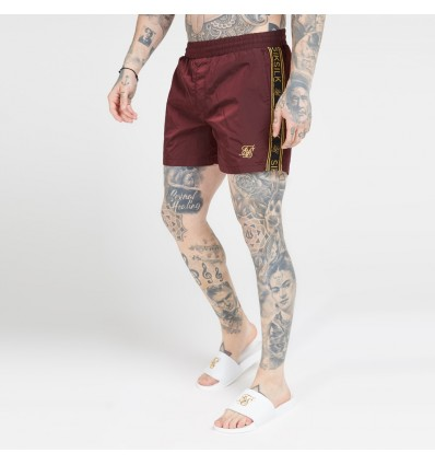 COSTUME CRUSHED BURGUNDY - SIK SILK