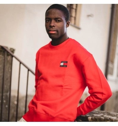 FELPA CREWNECK RED - TOMMY HILFIGER