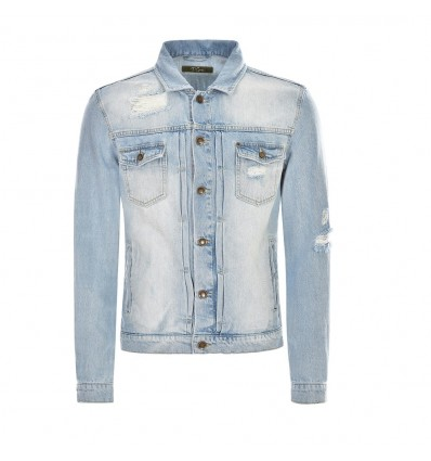 GIACCA JEANS STRAPPI - P.GRAX