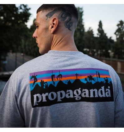 T-SHIRT BATTLEFIELD GREY - PROPAGANDA