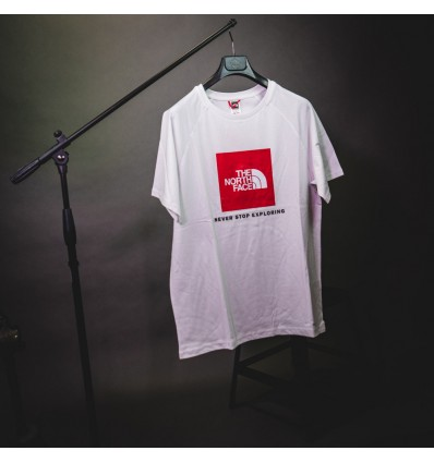 T-SHIRT REDBOX WHITE - THE NORTH FACE