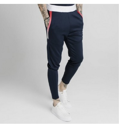 FUNCTION TRACK PANTS NAVY- SIK SILK