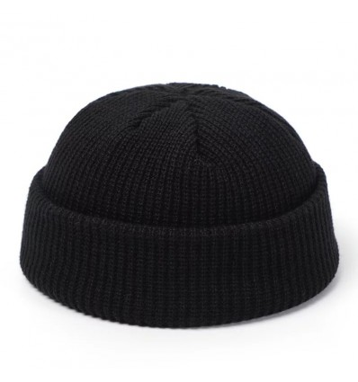 BEANIE BLACK FISHERMAN - NO PANIC