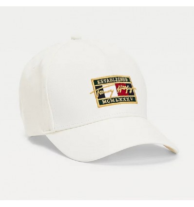 CAPPELLO FLAG WHITE- TOMMY HILFIGER