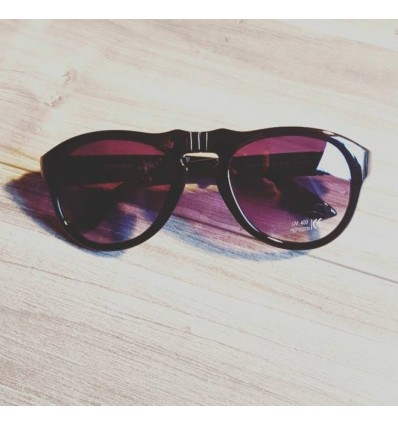 BLACK PORTABLE SUNGLASSES