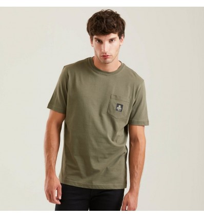 T-SHIRT PIERCE OLIVE - REFRIGIWEAR
