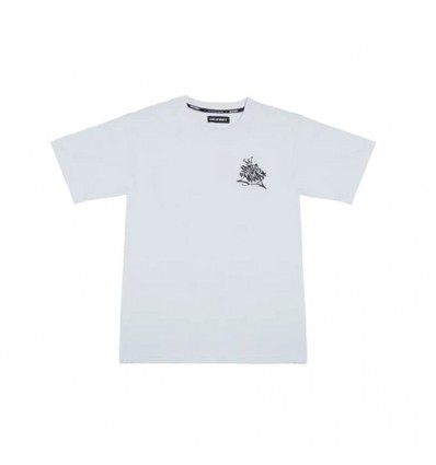 T-SHIRT 5 RULES TAG WHITE - 5TATE OF MIND
