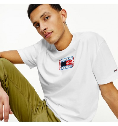 T-SHIRT TIMELESS WHITE - TOMMY HILFIGER