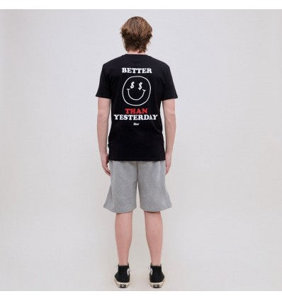 T-SHIRT TED SMILE BLACK - SHOE