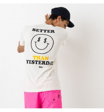 T-SHIRT TED SMILE WHITE - SHOE