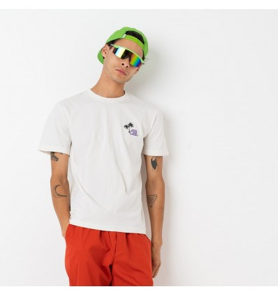 T-SHIRT TED PALM WHITE- SHOE