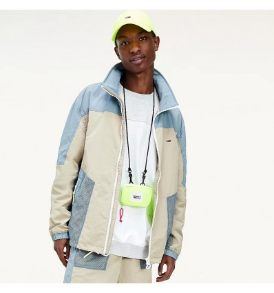 GIACCA COLORBLOCK BEIGE - TOMMY HILFIGER