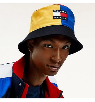 CAPPELLO BUCKET COLORBLOCK - TOMMY HILFIGER