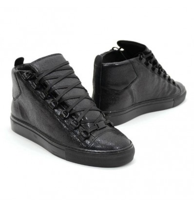 TOTAL BLACK HIGHTOP - NO PANIC