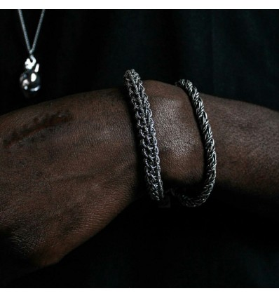 CHAINS BRACELET - DOUBLE U FRENK