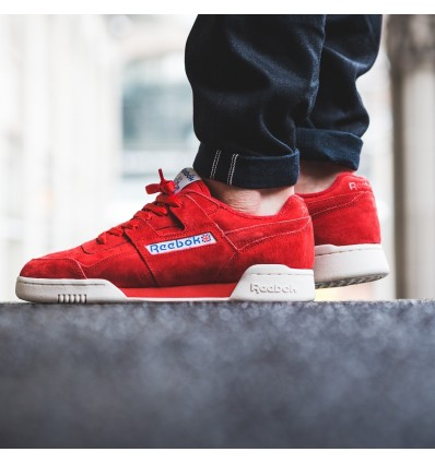 WORKOUT PLUS VINTAGE RED - REEBOK