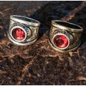 ANELLO VETERAN RED - DOUBLE U FRENK
