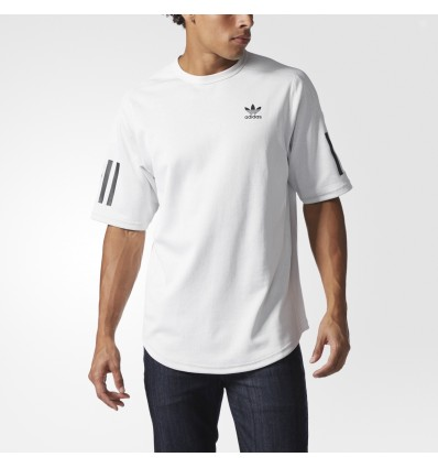 MAGLIA RELAXED WHITE - ADIDAS