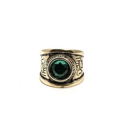 GREEN VETERAN RING - DOUBLE U FRENK
