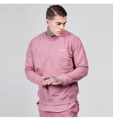 FELPA CREWNEK SALMON PINK - ILLUSIVE LONDON