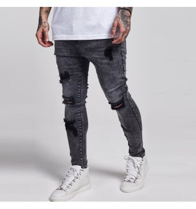 JEANS BLACK WASH - SIK SILK