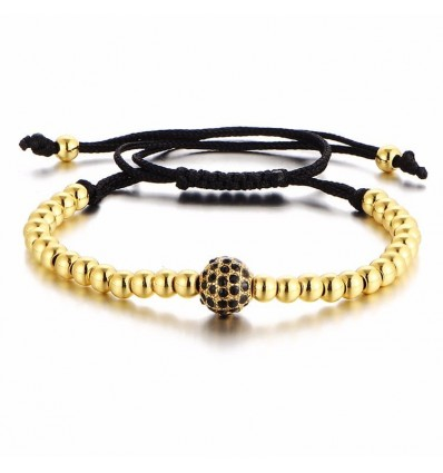 BRACCIALE GOLD DIAMOND - GOLDEN STONE